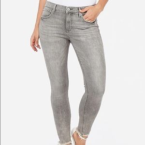 NEW Express Denim Perfect Mid Rise Ankle Jeans 10